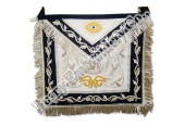 Hands Made Masonic Bullion Wire Aprons