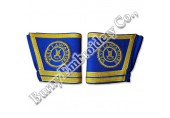 Masonic Regalia Hands Embroidery Bullion Wire Cuffs