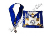 Masonic Regalia Hands Embroidery Bullion Wire Aprons Collar