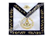 Finest Quality Masonic Regalia Hands Embroidery Bullion Wire Aprons