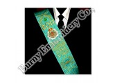 Regalia Hands Embroidery Bullion Wire Sash