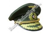 Officers Military Police Hands Embroidery Caps