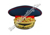 Officers Military Hands Embroidery Caps