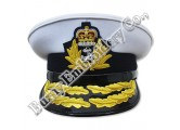 High Quality Officers Embroidered Badge Caps