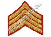 Uniform Accessories Machine Embroidery Chevrons