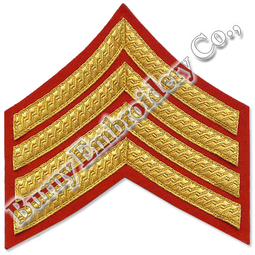 Accessories Machine Embroidery Chevrons