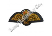 Hands Embroidered Wings Patches Badges