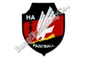 Uniform Accessories Machine Embroidery Badges Patches