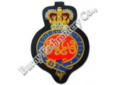 Hands Embroidered Bullion Wire Insignia Emblems Badges Patches