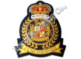 Turkish Bullion Blazer Hands Embroidery Badges