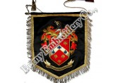Flags & Banners Hands Embroidered Pennants